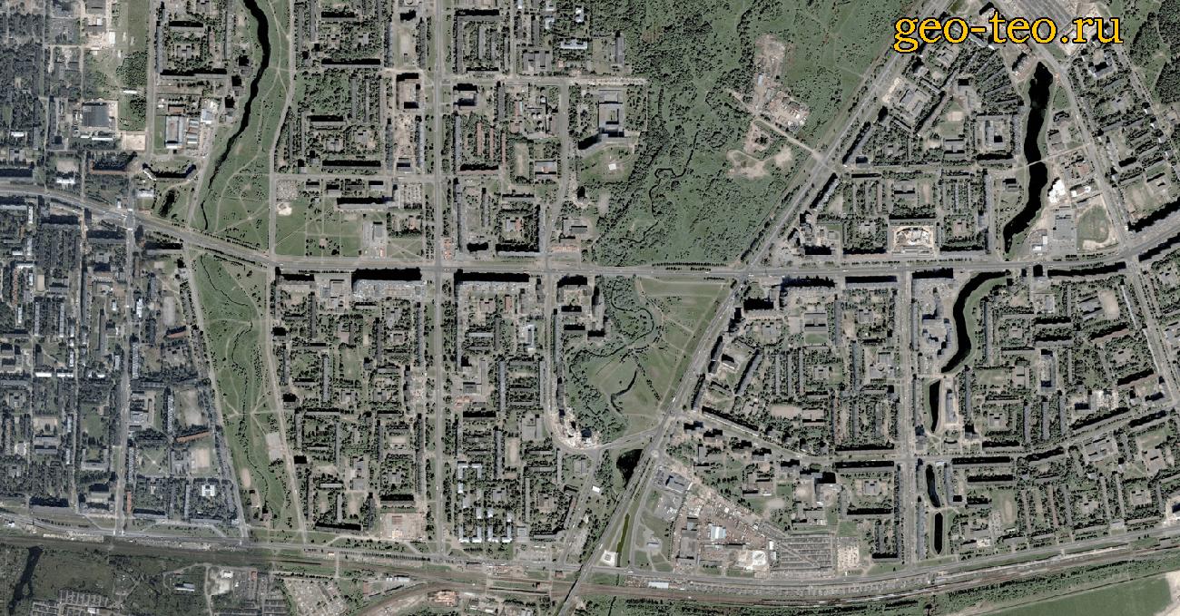 Измерение площади по спутниковой карте