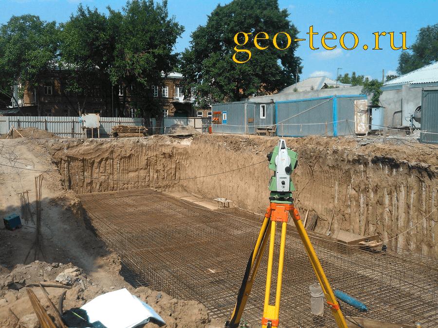 геодезический мониторинг